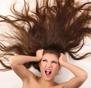 saç elektrinlenmesi için önlem