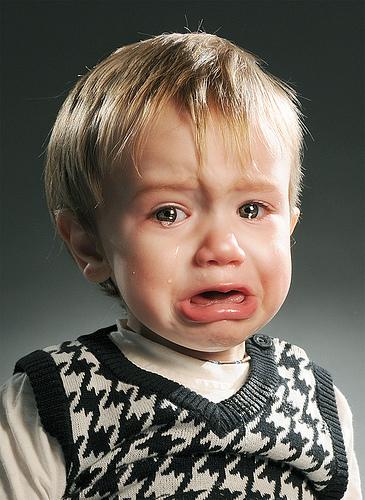 bebeklerde çok ağlama
