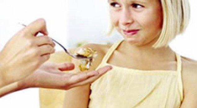 çocuklardaki yeme sorunu