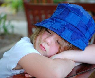 çocuklarda uyku problemi