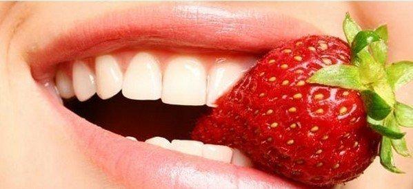Çileğin Dişlere Faydaları